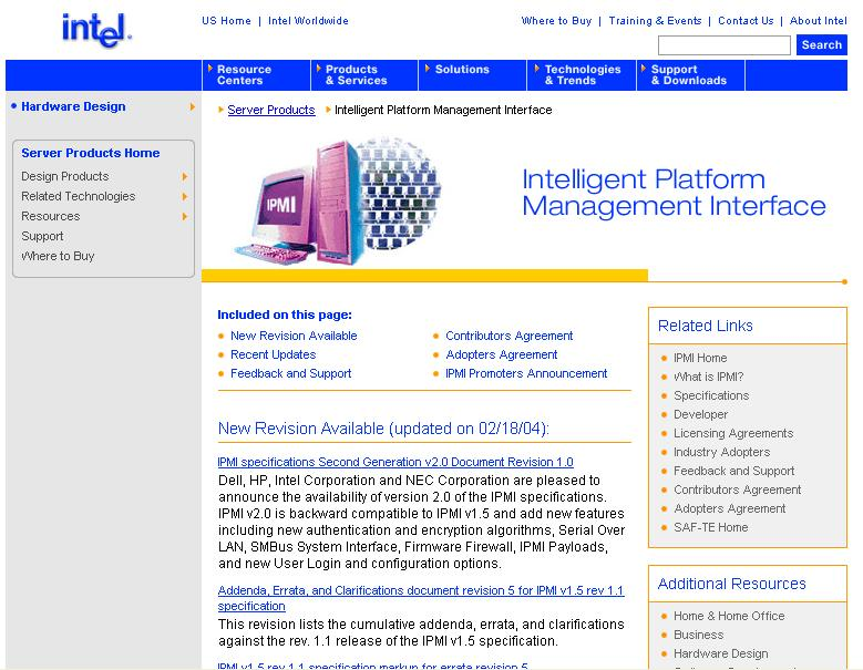 Advances in Intelligent Platform Management: Introducing the New