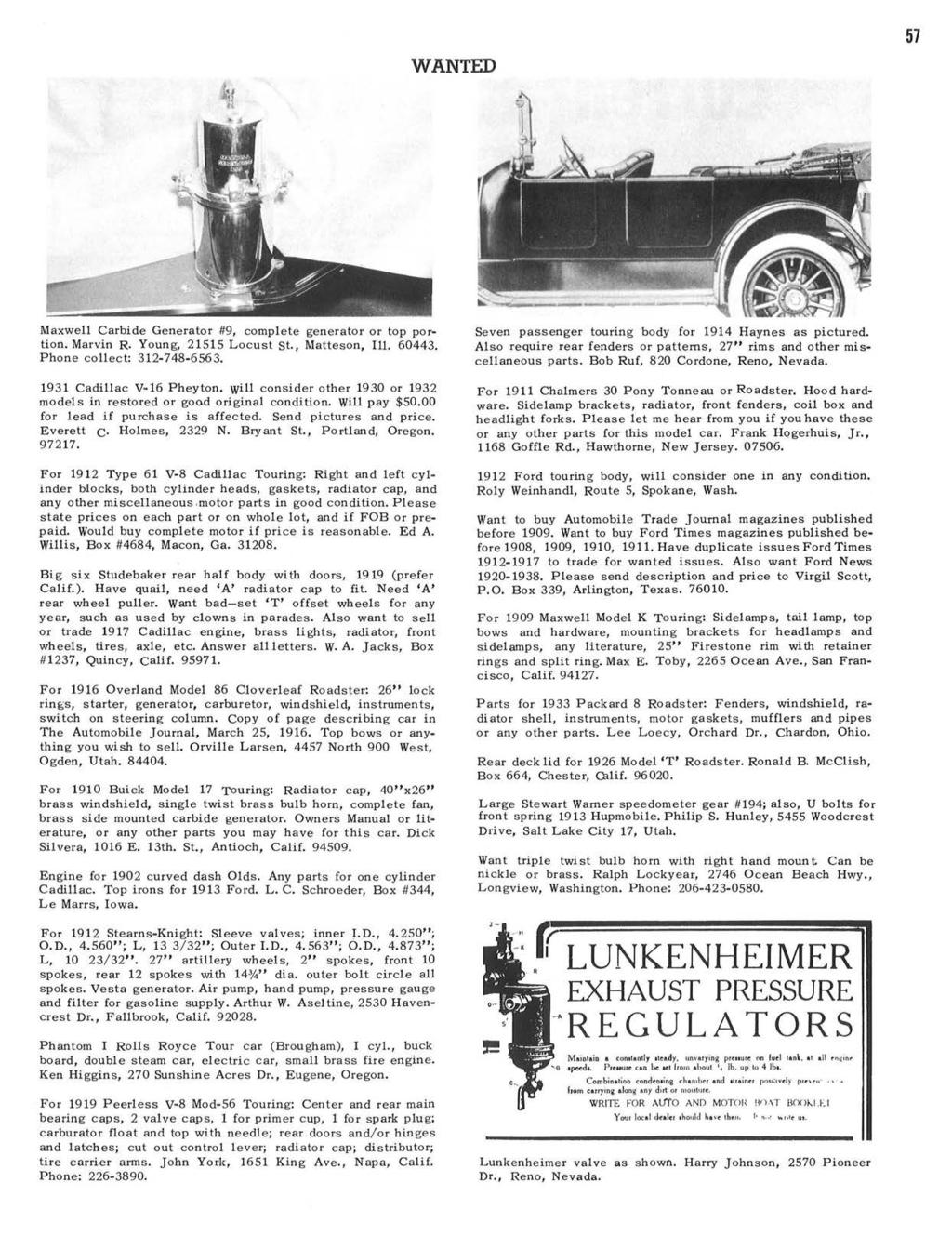 Horseless Carriage Club of America Founded in Los Angeles