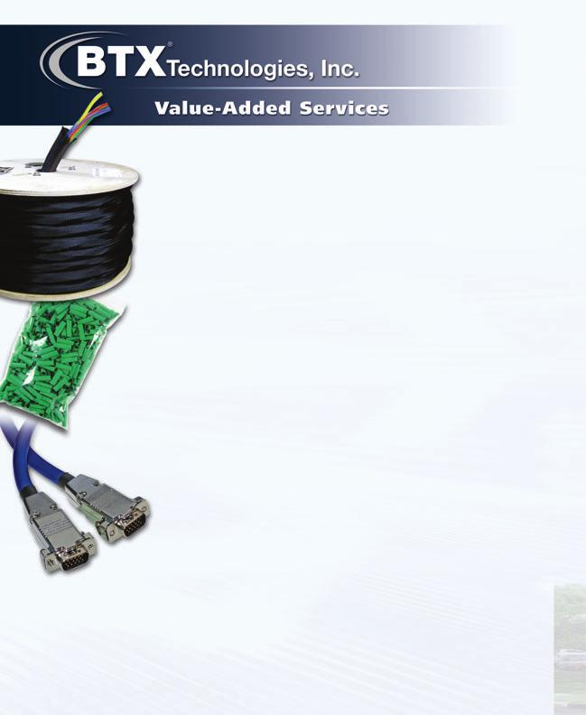 NEW! - BTX Custom Cable Bundling Service Why get an over-jacketed custom bundled