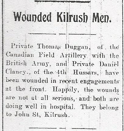 A Tribute to Kilrush in the Great War - Clare County Library