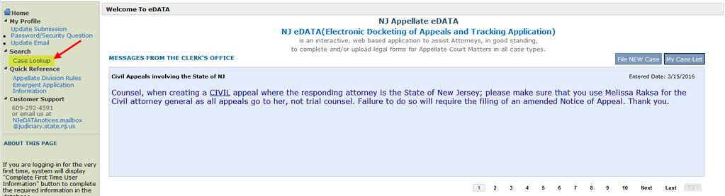 Creating a Civil Appeal and documents in ecourts Appellate - PDF