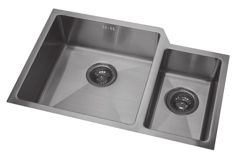 Sinkware. For all benchtop surfaces. New Zealand made since PDF