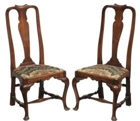 Well-Educated 18th Century Very Rare Early Georgian Hand Painted Chinolserie Ebonized Chair Antiques Pre-1800