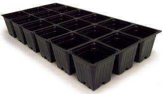 No Drain Holes includes Domes with 30 : 1020  Seed Tray 5 606 JUMBO Inserts