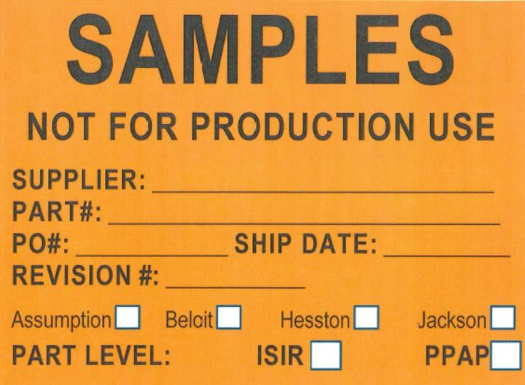 Supplier Shipping Instructions North America - PDF