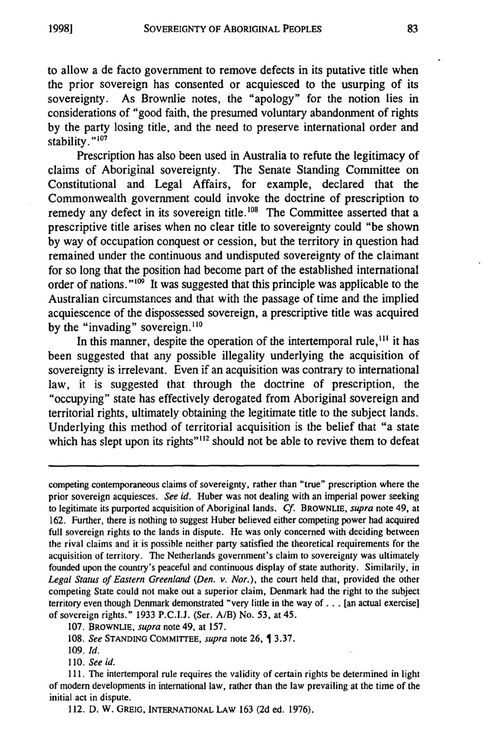 SOVEREIGNTY OF ABORIGINAL PEOPLES - PDF