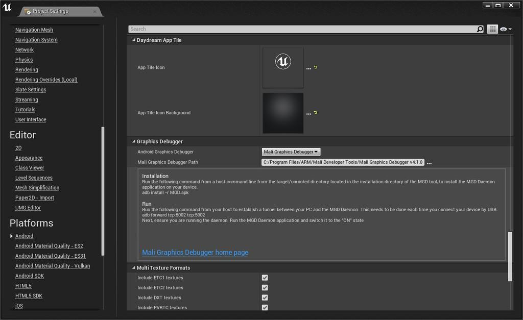 ARM Guide for Unreal Engine 4 - PDF
