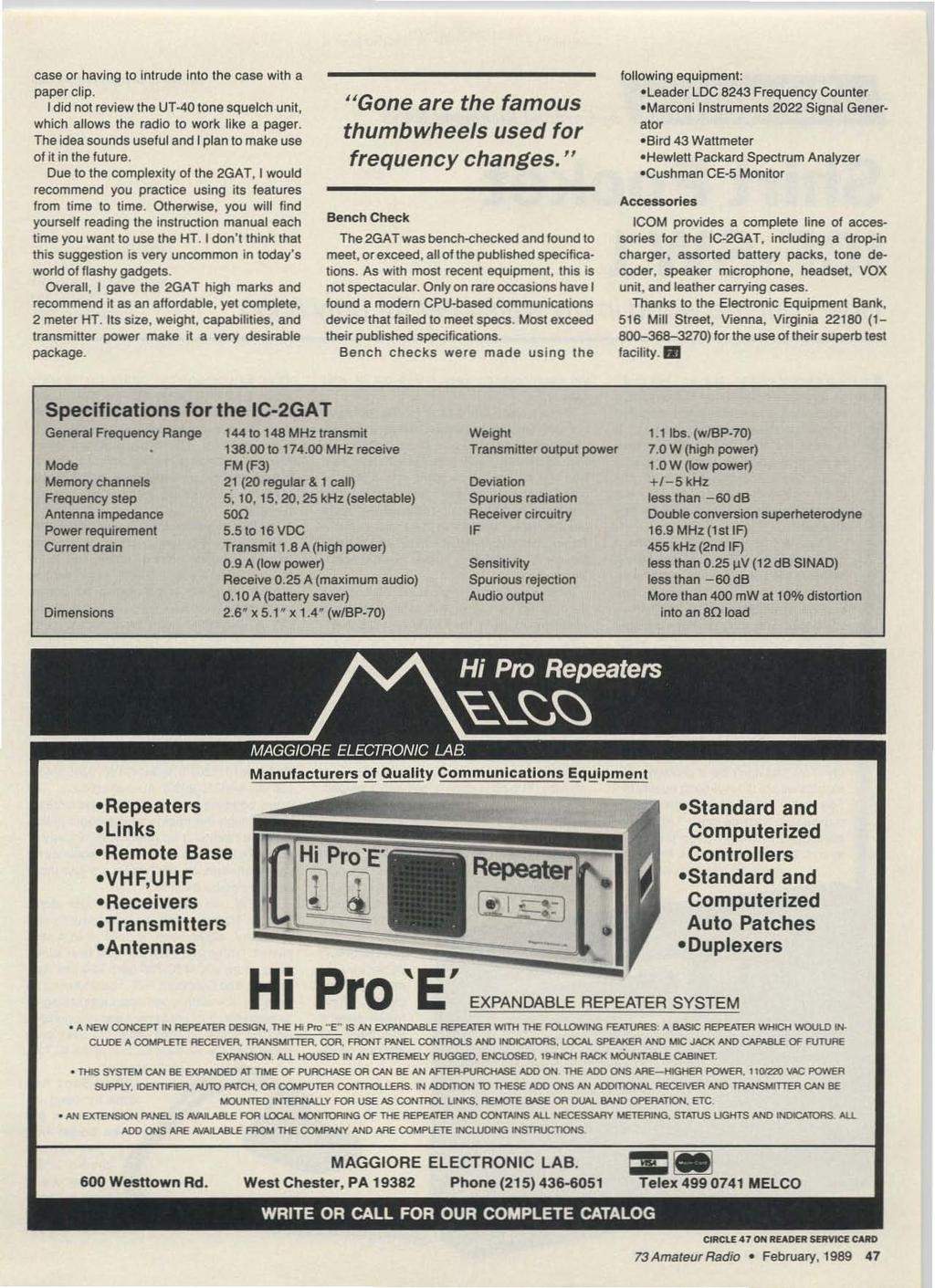 Forhome For the road Portable Two great HF rigs FAX converter ...