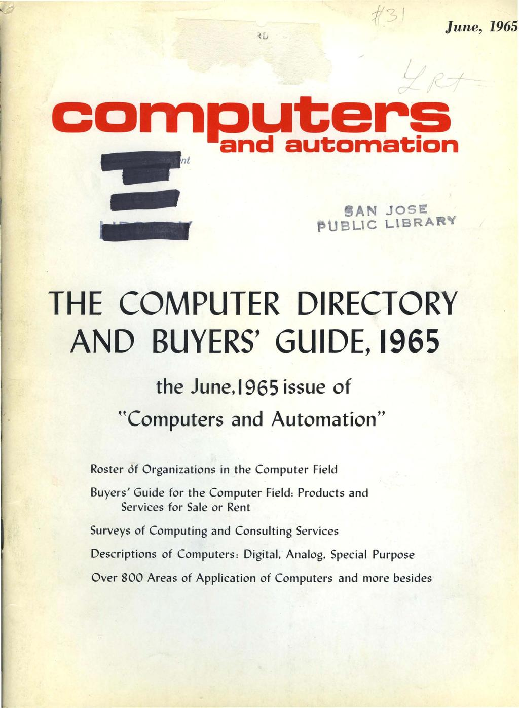 THE COMPUTER DIRECTORY AND BUYERS' GUIDE, PDF
