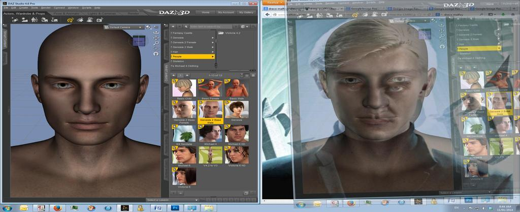 Making Faces  Lookalike face crafting in Daz Studio and