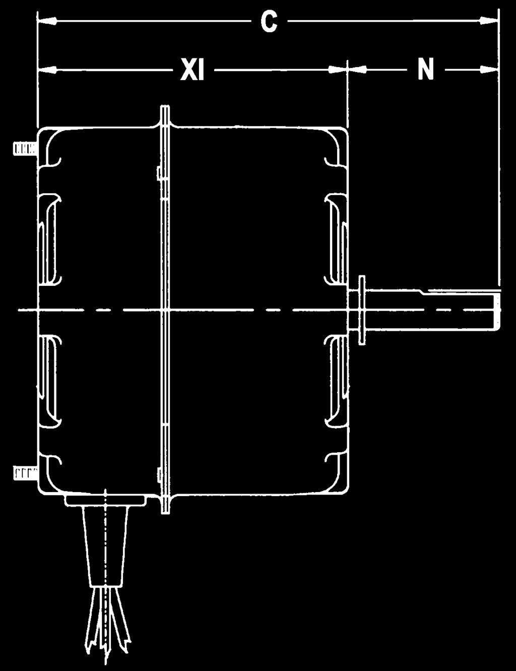 Residential And Mercial Pdf. Bolt Circle Designed For Use With 370v Capacitor Note H35 Open Air Over H36. Wiring. 5kcp39gg Capacitors Wire Diagram At Scoala.co