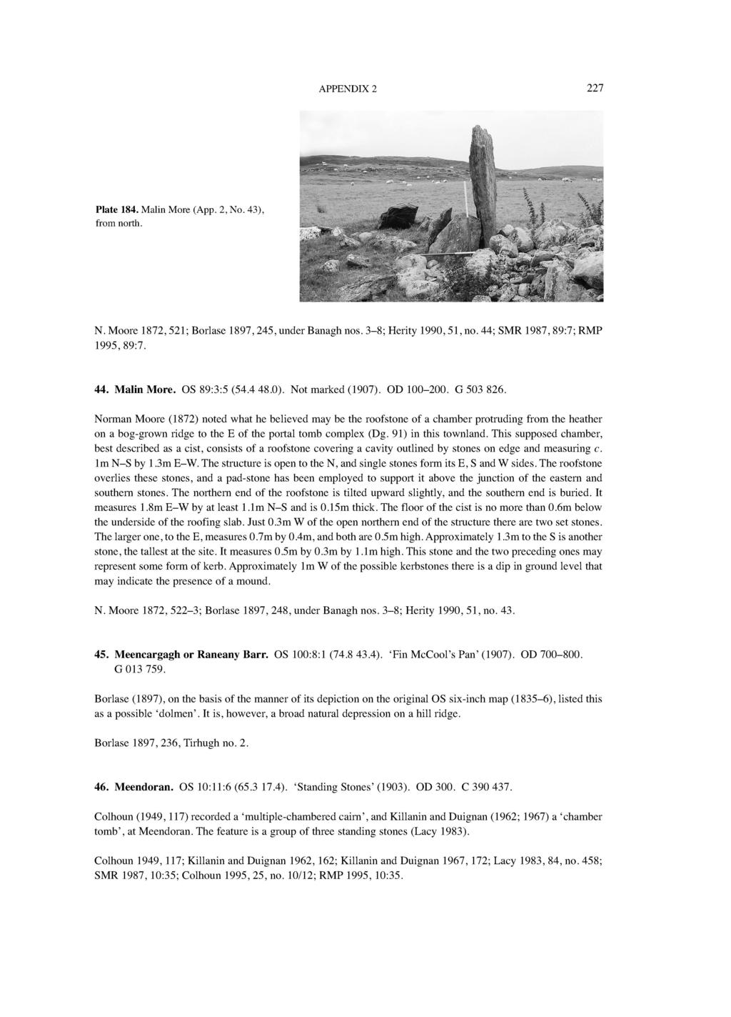 2  SUMMARY DESCRIPTIONS OF PASSAGE TOMBS IN COUNTY DONEGAL - PDF