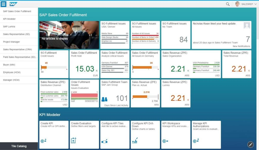 UX106 SAP Fiori Launchpad: Overview and Recommendations  Public - PDF