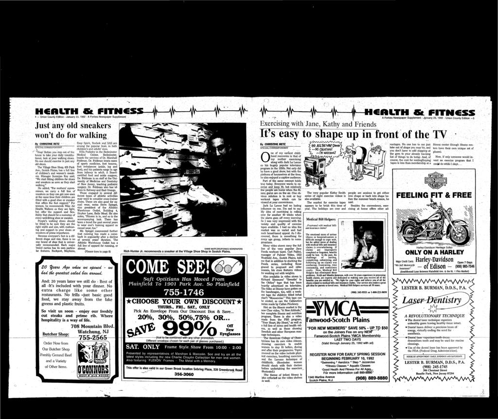 online store 257f4 4ee06 FITNCS 4 Union County Edition - January 23, 1992 - A Forbes Newspaper  Supplement