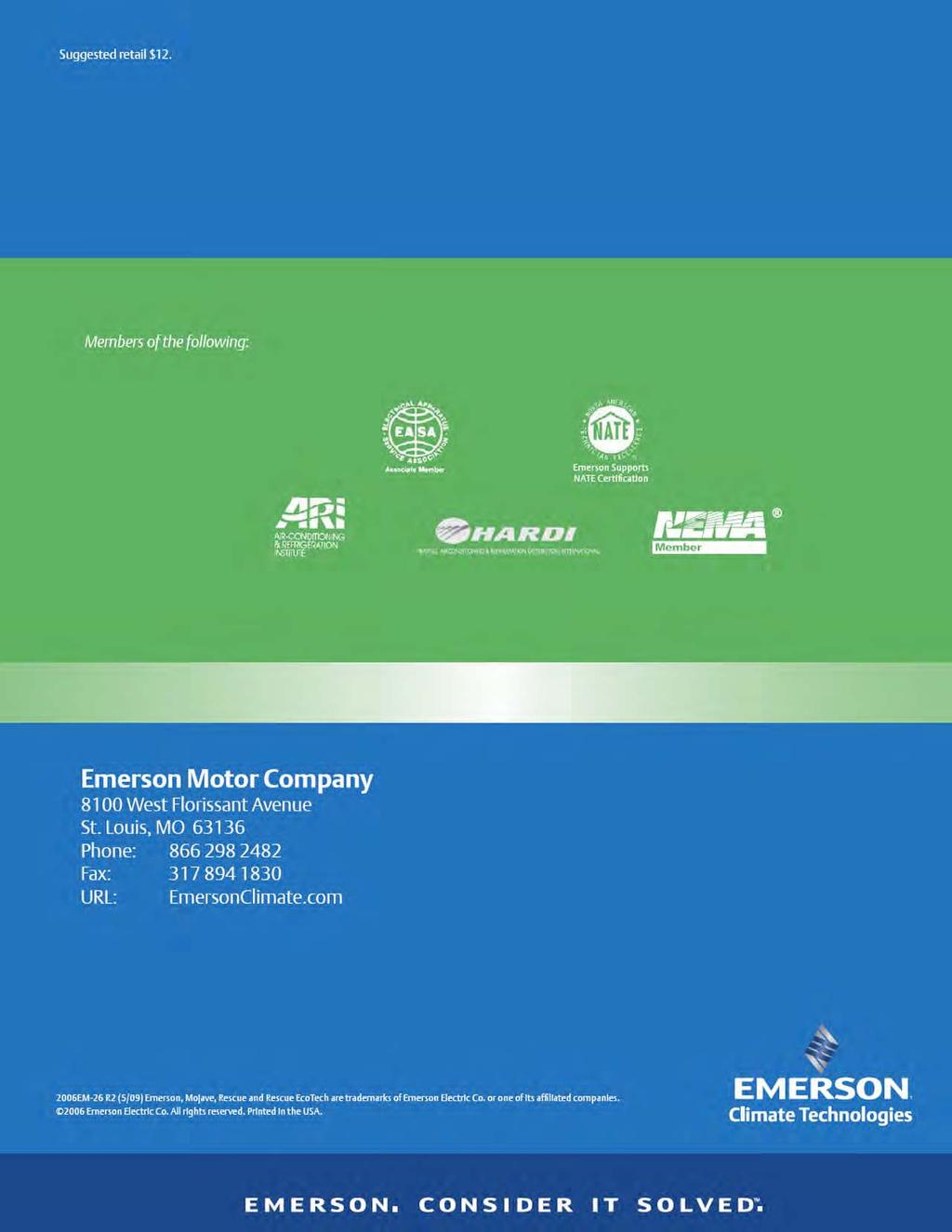Emerson Motor Wiring Diagram 4760 Just Diagrams Rescue Blower Customer Service Providing Solutions Round The Clock Marathon