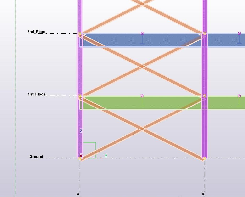 These levels exported For levels created on import into from Tekla  Structures, levels will be