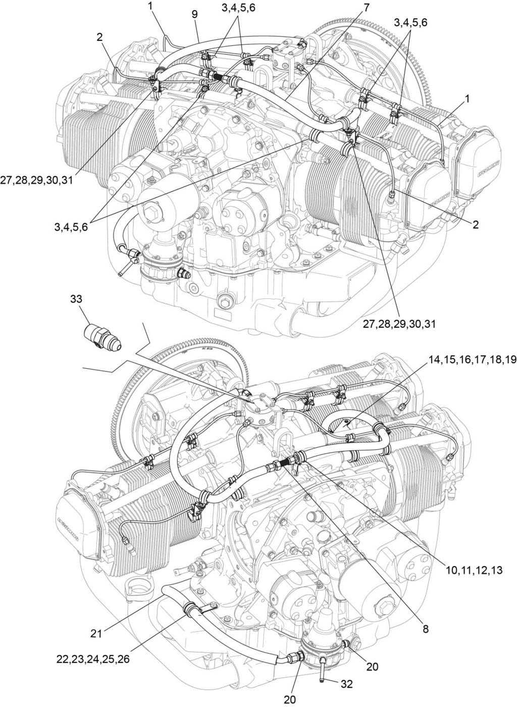 io-360-n1a engine illustrated parts catalog - pdf lycoming oil system diagram oil pump diagram