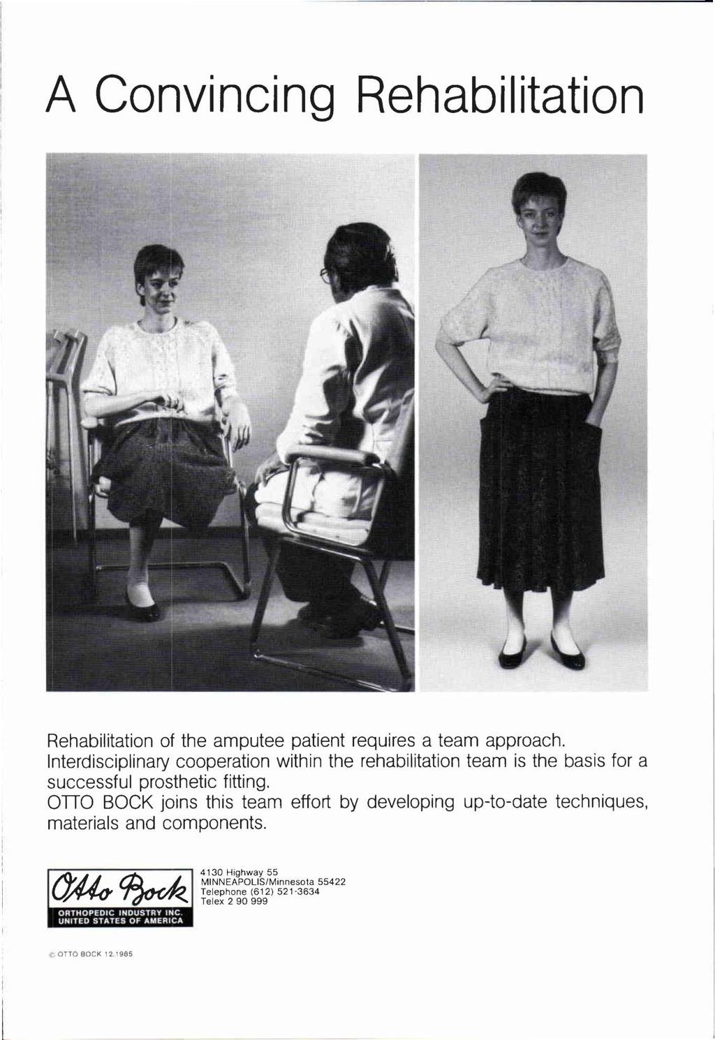 Volume 40 Number 2 Orthotics And Prosthetics Journal Of The Fitti Rainbow Regular S 12x12 12 Bags A Convincing Rehabilitation Amputee Patient Requires Team Approach