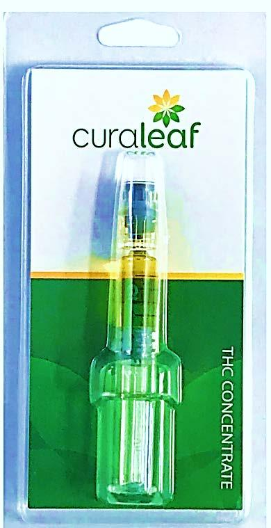 Curaleaf produces multiple formulations of THC using
