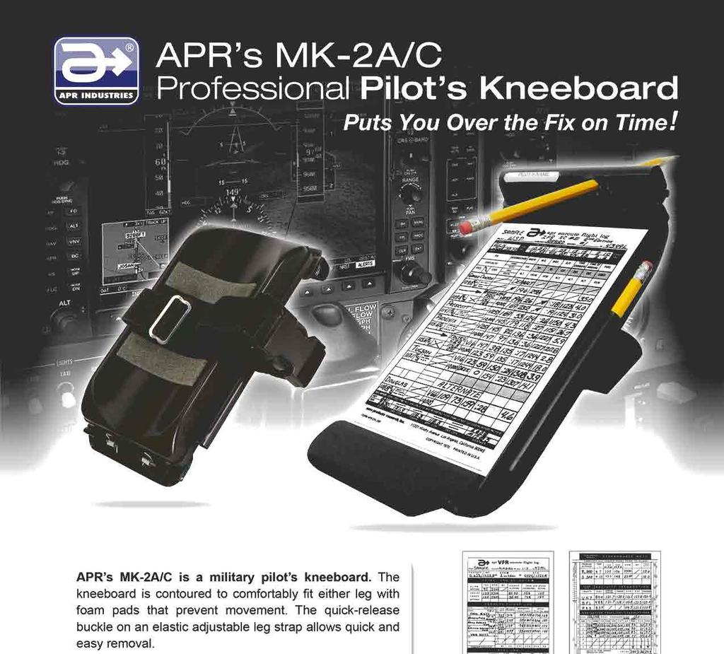MK-2A//C Military Pilot Kneeboard Aero Products Research
