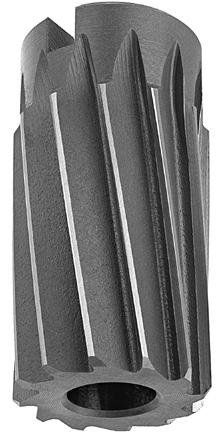 Straight Flute Round with Square End Shank Pack of 1 - DWRRADJG G Size Drill America DWRRADJ Series Qualtech High-Speed Steel Adjustable Hand Reamer Black Oxide Finish