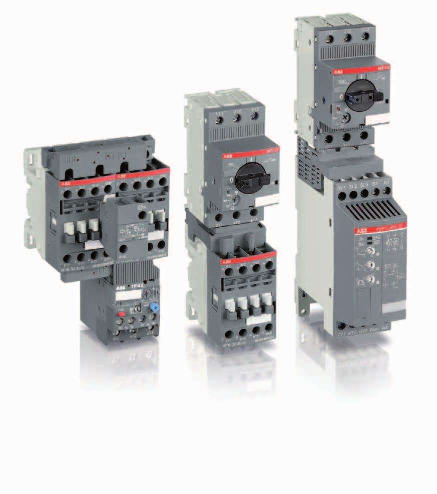 Abb Motor Starters Control Wiring Diagram Catalogue Protection And Manual S New Devices Up To 18