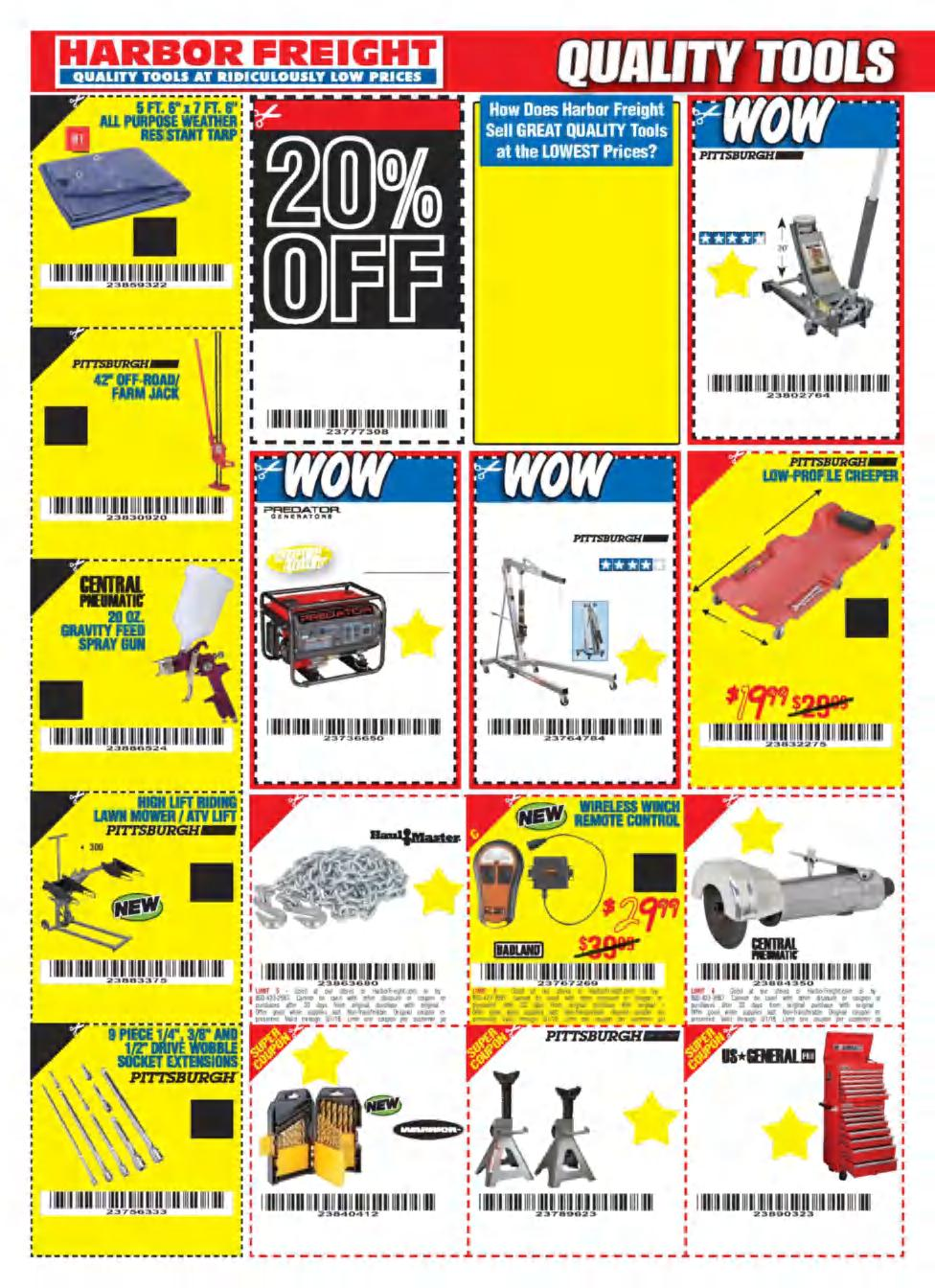 Cheap Truck Challenge 5 Pdf Harbor Freight Camo Atv Winch Wiring Diagram Super Coupon Limit 6 Good At Our Stores Or Harborfreightcom By Calling