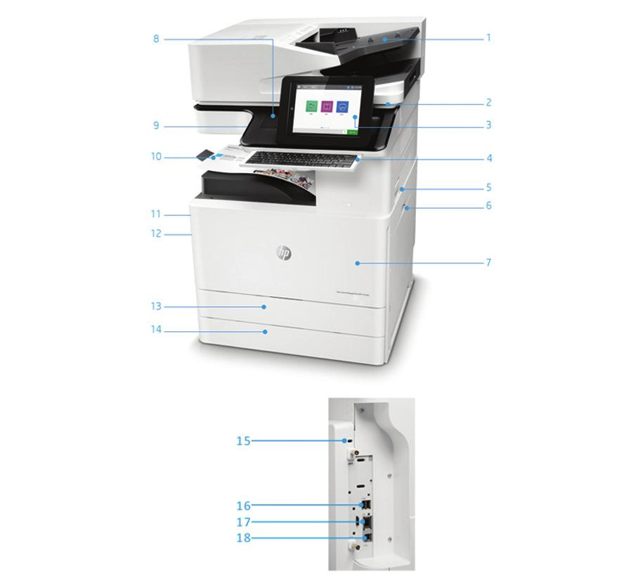 HP Color LaserJet Managed MFP E87640, E87650, E PDF