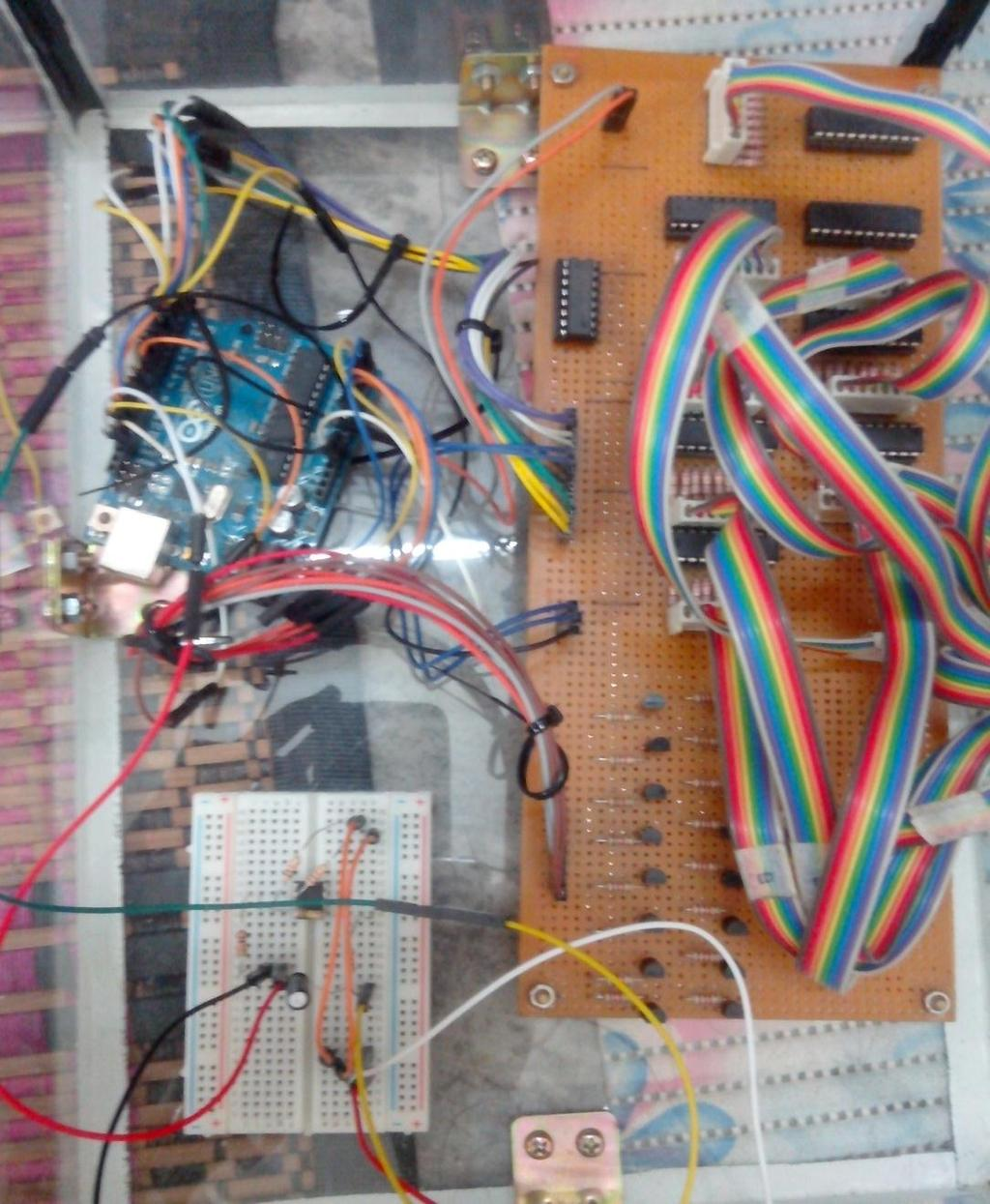 Controlling The Led Cube Patterns With Audio Input Signal Muhammad Ac Fan Speed Control Using Android Mobile Microtronics Technologies 40 Multiplexing Circuit Arduino Uno