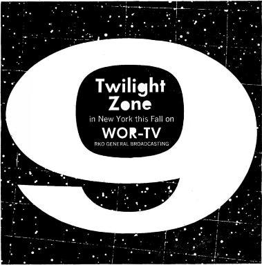 "Martian"" and ""Mister Ed' Want to attract large- family audiences? TWILIGHT ZONE delivers! CBS FILMS Based on ARB estimates, subject to qualifications which CBS Films will supply on request."