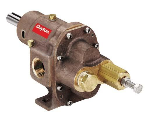 Rotary Gear Pumps  Dayton Product Introduction Introducing a