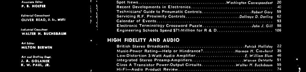 ELECTRO N CS WORL. Complete Directory INTEGRATED STEREO ... on