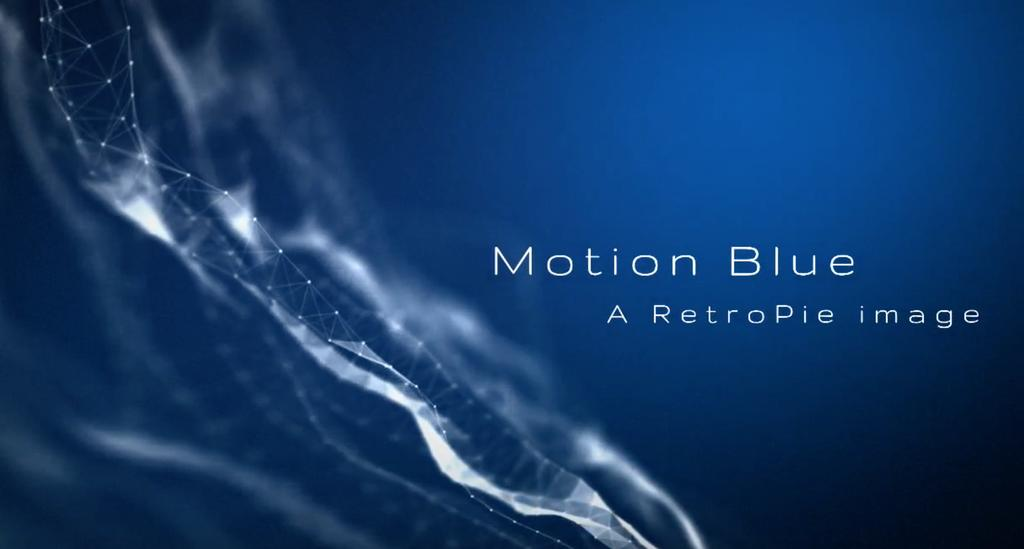 Motion Blue Base Image  Welcome to the Motion Blue 8GB Base
