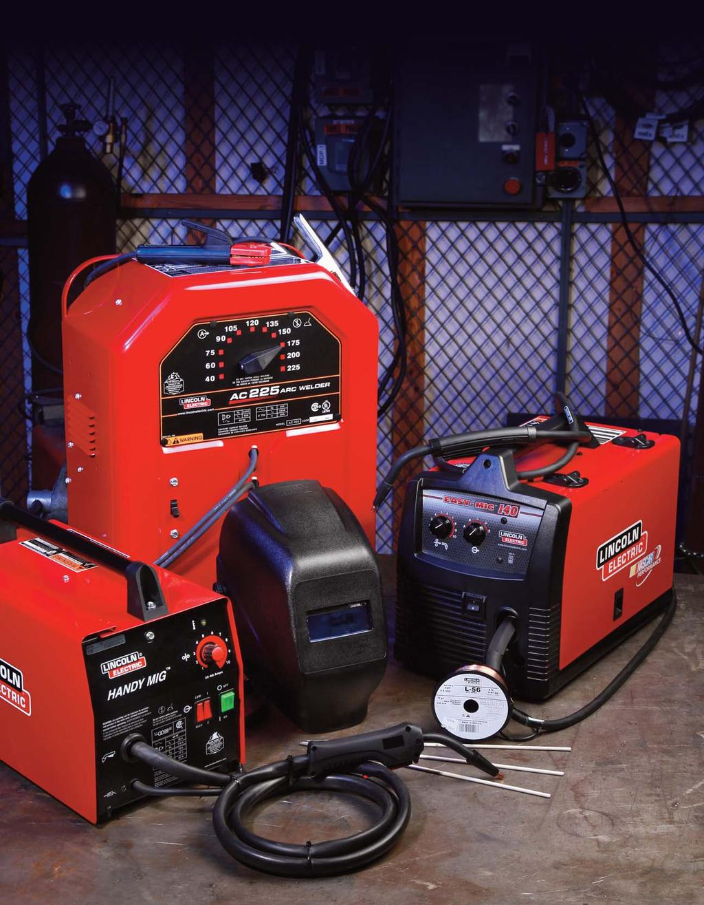 Lincoln Electric Retail Welding Products Stick Welders Wire Feed Welder