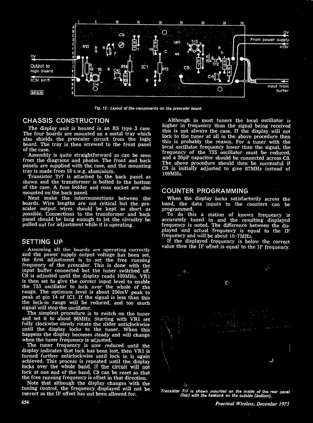 8 Page Supplement Insidealso 2m Fm Transmitter Stabilised Power 120v Heat Tape Wiring Furthermore Toy Train Layout Further Transistor Tr7 Is Attached To The Back Panel As Shown And Transformer Bolted