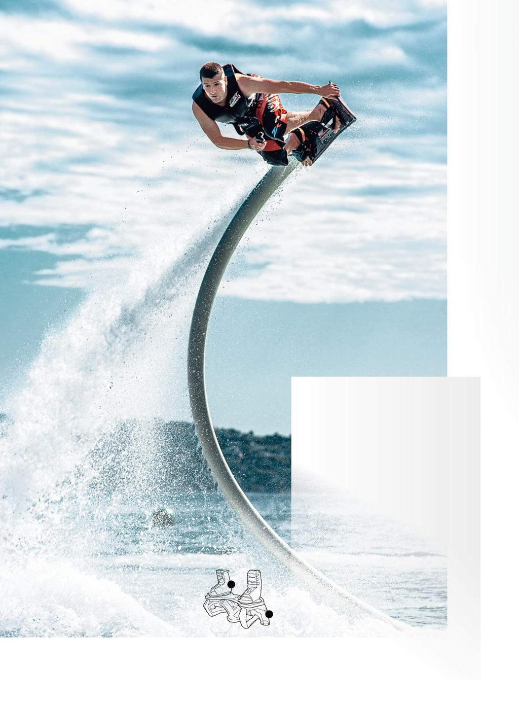 The new Flyboard is 35 per cent lighter and can rotate on its axis to  improve 884af9fb87b