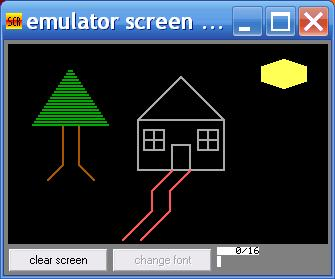 Draw a House with EMU8086  Assembly Language Coding Project  Matthew