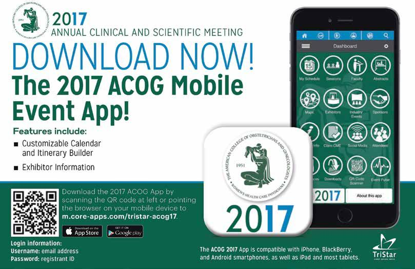 ANNUAL CLINICAL AND SCIENTIFIC MEETING SAN DIEGO, CA MAY 6 9, 2017 ...