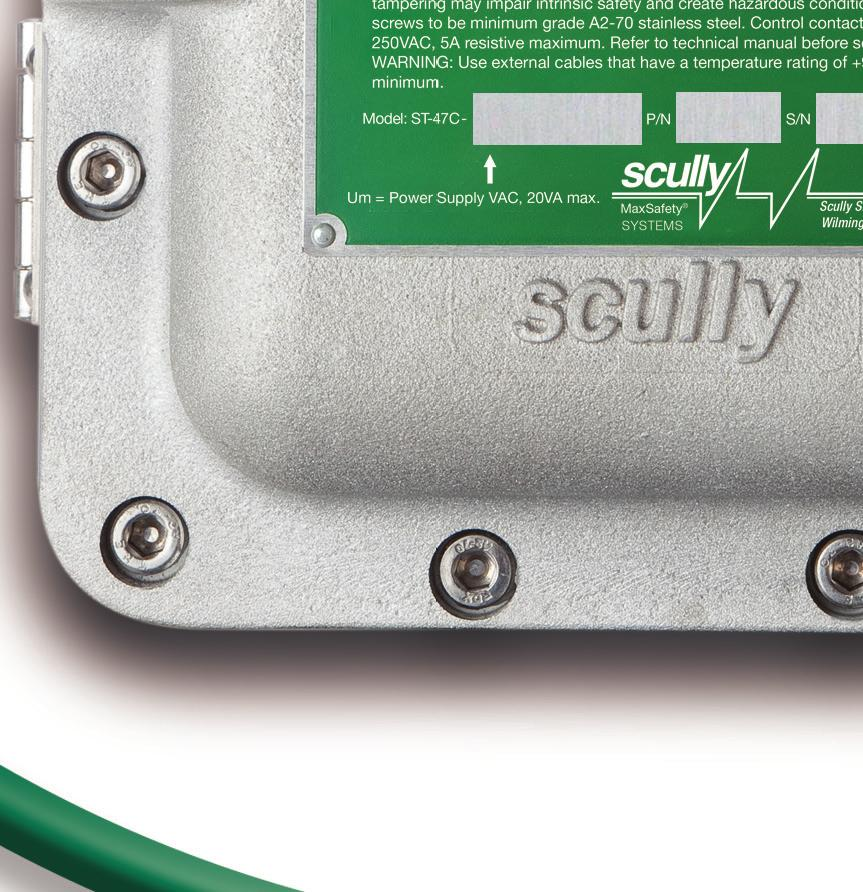 scully st-47c groundhog