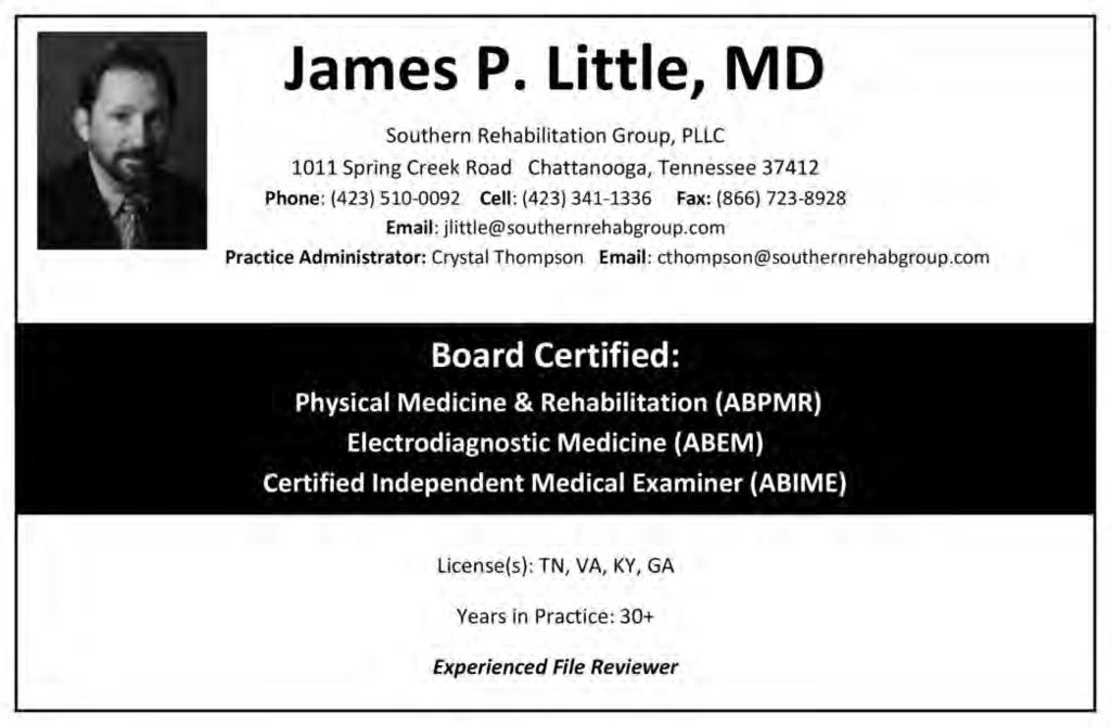 National Directory of Medical File Review Consultants - PDF