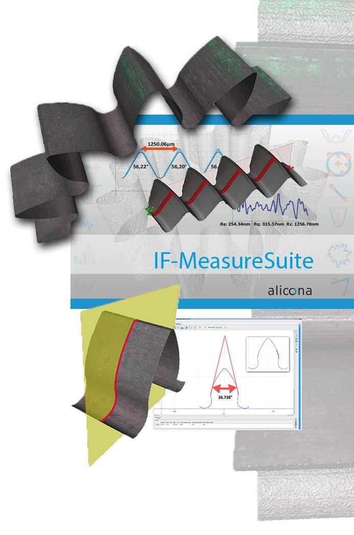 IF-MeasureSuite 5 1  The Product Advanced 3D surface measurement of
