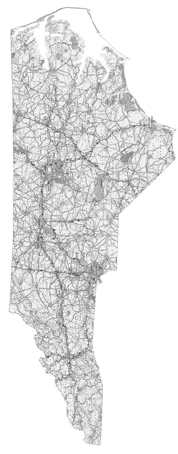 Nc Maps North Carolina Nursery And Product Service Vendors May Be Located On One Of