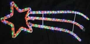 operated Cable length: 1.5m Rope light thickness: 10mm Dimensions (HxW):