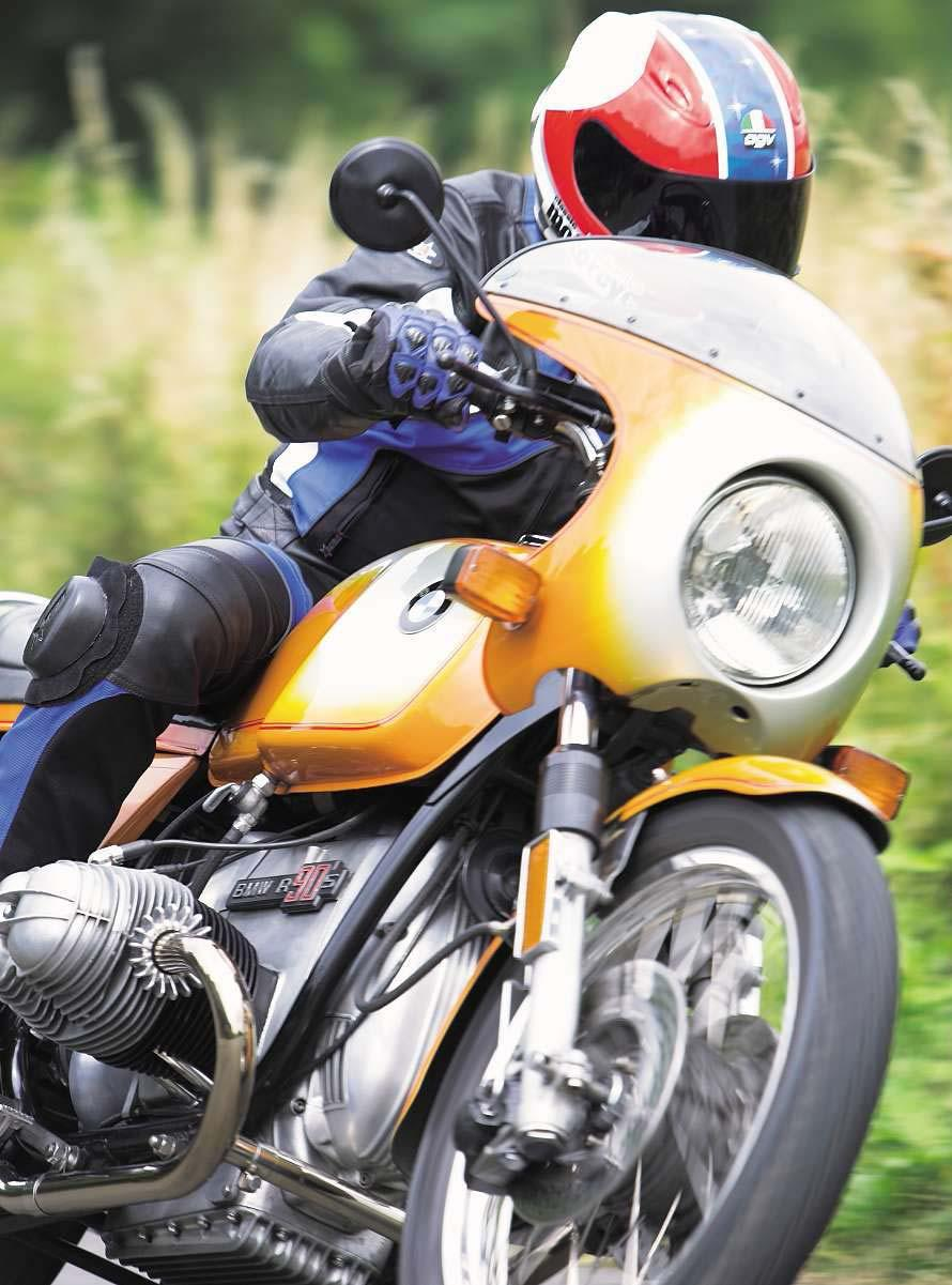 Beast Of A Bike Supermoto Italian Gold Bmw R90s The First Wiring For Super Dummies Me Norton Commando Classic Motorcycles Cult Bikes Meistershaft Words Chris