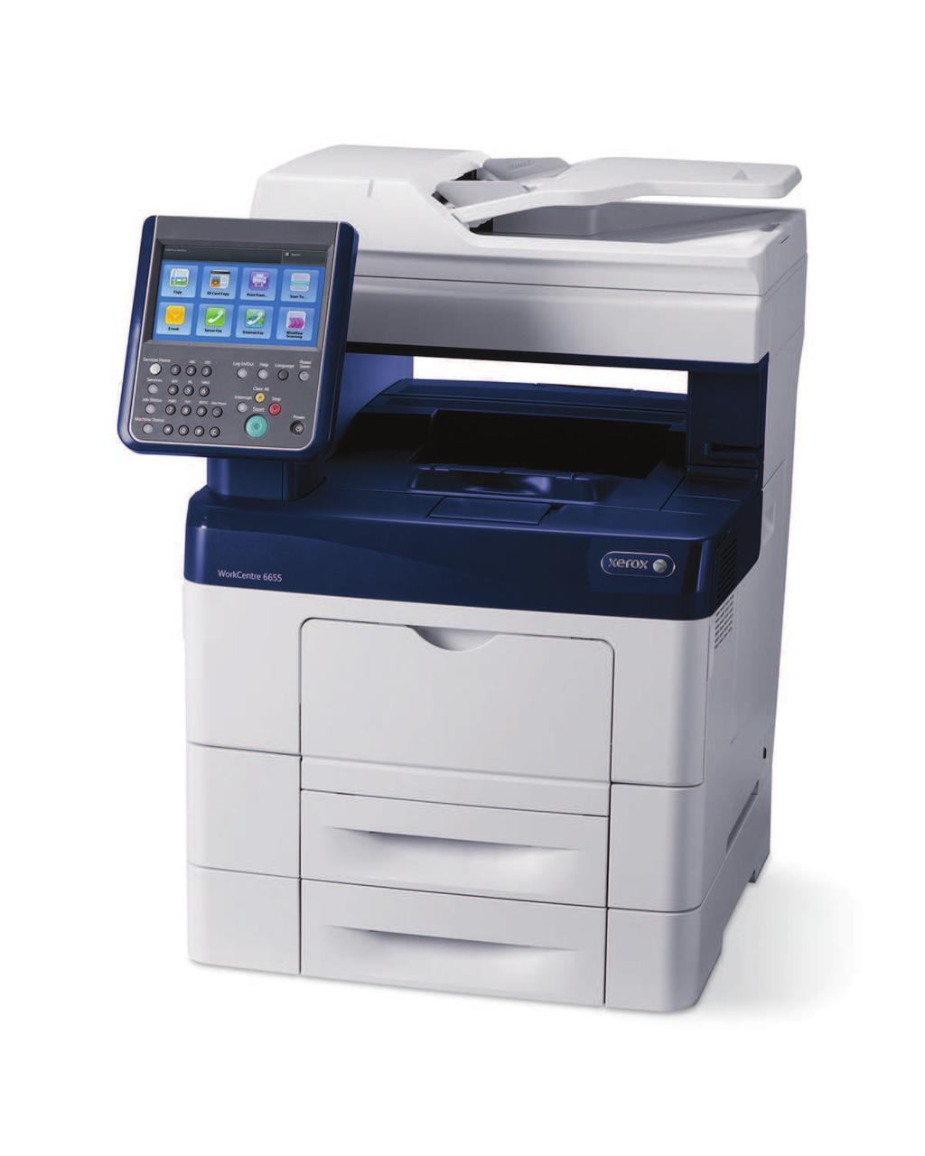 WorkCentre 6655 Color Multifunction Printer