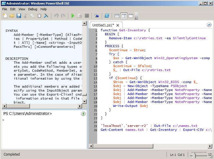 Powershell Ise Wait For Input