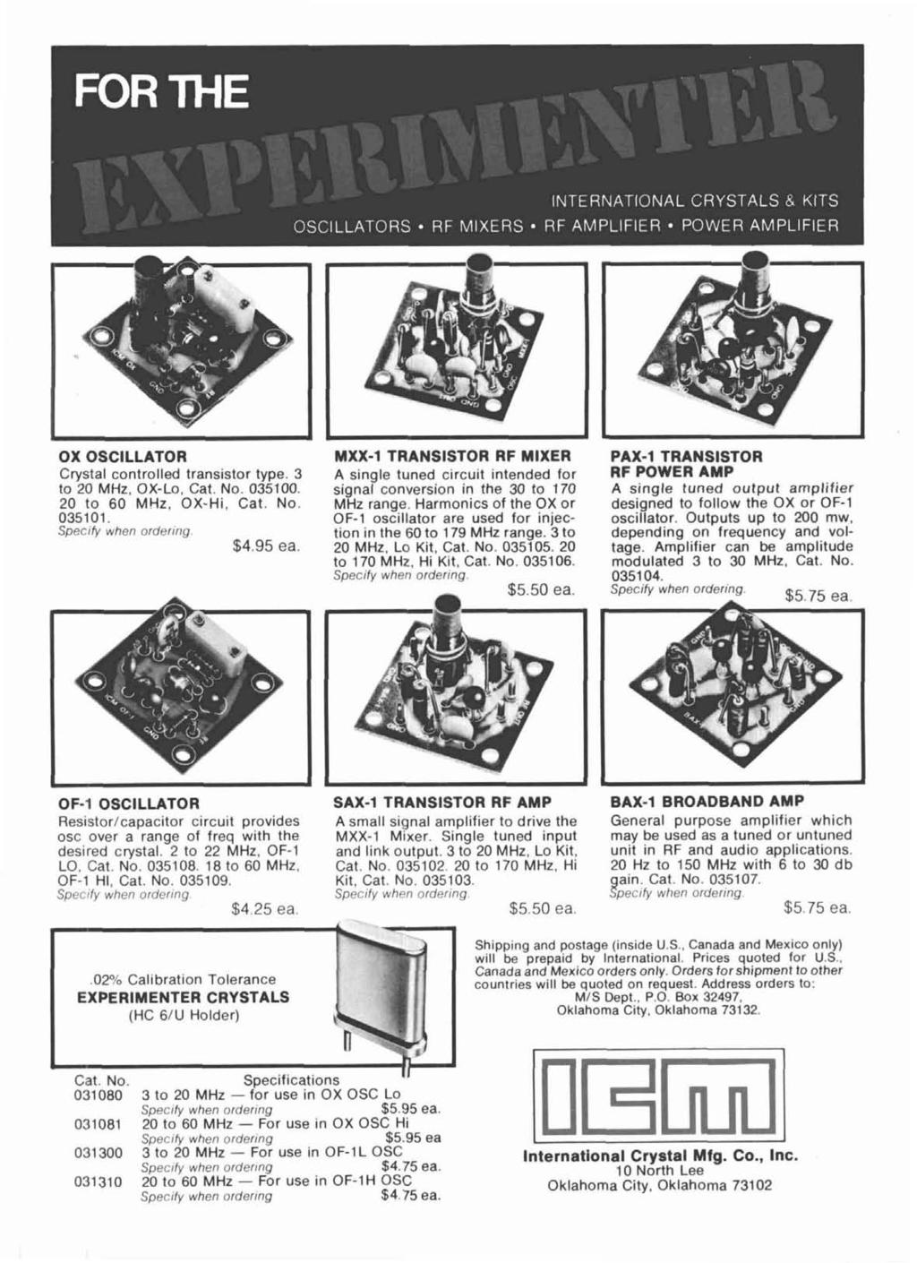 Radio Ham Magazine July 1978 J Antenna 74 Variable Power Supply 36 Egrated Circuit Type 747 Accommodates Two Operational Amplifiers Ox Oscllator Mxx 1 Transstor Rf Mxer Pax Crystal Controlled Transistor