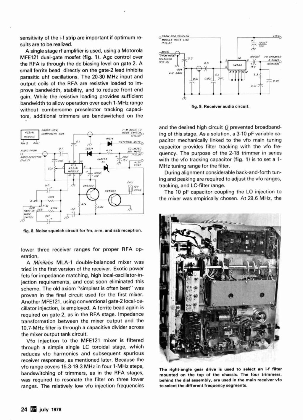 Radio Ham Magazine July 1978 J Antenna 74 Variable Power Supply 36 Fm Stereo Demodulator Of Rf Circuit Using Ic Lm1800 Sensitivity The I F Strip Are Important If Optimum Results To Be Realized A