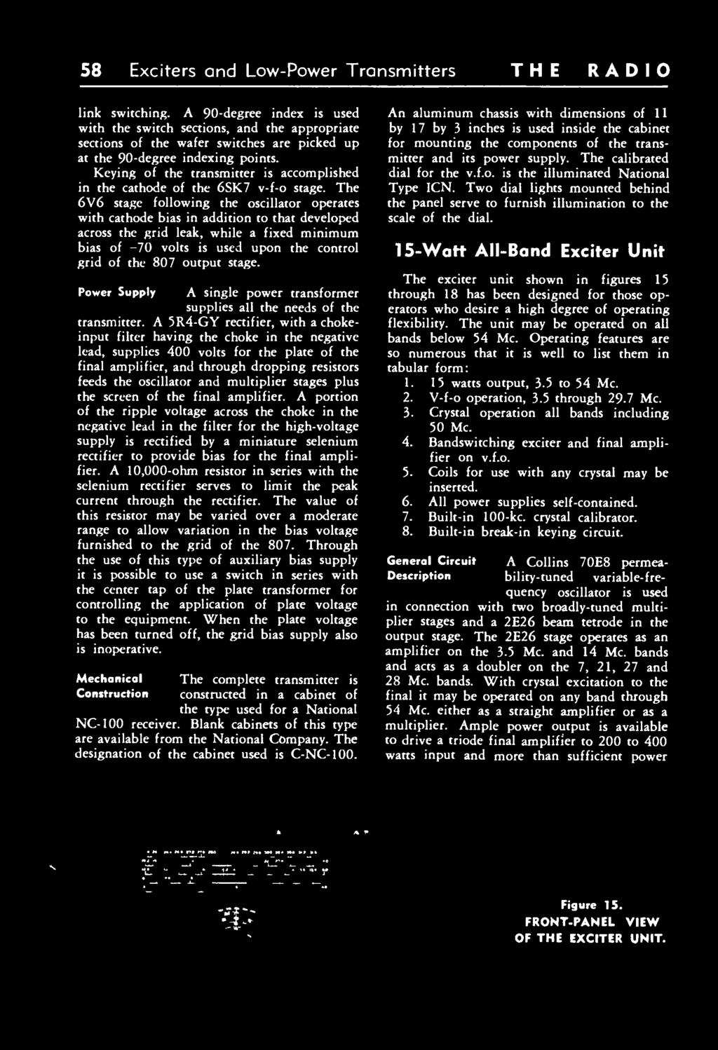 Radio Acia Twelfth Edition 1 4 J Pdf Boosting The Output Power Of Low Fm Broadcast Band Exciters Is Keying Transmitter Accomplished In Cathode 6sk7 V F 59 58 And Transmitters Link