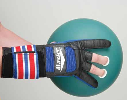 Master Industries Wrist Master II Bowling Gloves Right Hand